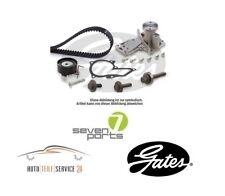 Gates Zahnriemensatz PowerGrip und Wasserpumpe mit Dichtung Ford Fiesta 1.4 1.6