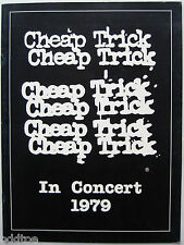 Cheap Trick- Original 1979 World Tour Concert Program, Dream Police