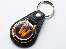 World of Warcraft WOW Icon en ligne JEU vidéo Cuir de première qualité & chrome