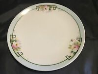 "Vintage Hand-Painted NIPPON Morimura Noritake 7 3/4"" Plate Flowers Japan"