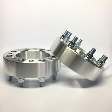 """2) Hubcentric Wheel Spacers Adapters ¦ 8X6.5 8X165.1 ¦ 14X1.5 ¦ 2"""" Inch 50mm"""