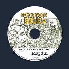Encyclopaedia Biblica 1899 Old Books Collection 4 PDF E-Books on 1 DVD Bible