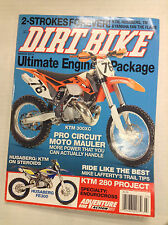 Dirt Bike Magazine KTM 300XC Moto Mauler March 2013 032817nonR