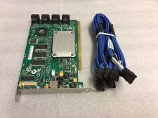 LSI MegaRaid 8-Port SATA II RAID Controller PCI-X + 6 SATA Cables MR SATA 300-8X