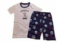 NWT Boy's Gymboree Ruff Morning Dog shirt shorts pajamas gymmies ~ 4 5 6 7 8 10