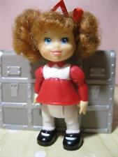 Fisher Price Christmas Doll Family Figure People-Red Toddler Girl Baby Sister
