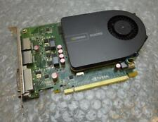 1 Go Dell Nvidia 2000 PCI-E GDDR5 Double Displayport / DVI Graphics CARTE 8mdmw
