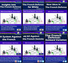 The Definitive French Collection - 6 DVDs - Chess Lecture Chess DVD