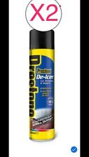 2 x DE-ICER 600ml - Aerosol Spray Can - Fast Melt deicer ice 36˚C