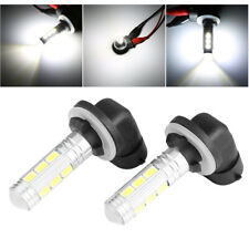 2x White 2323 SMD 881 LED High Power Fog Driving Light Bulbs 12V-24V 1200LM Hot