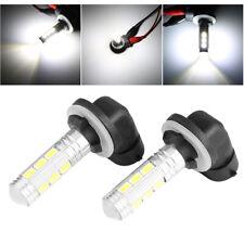 2pcs 881 White High Power 5730-14SMD LED Fog Light Foglight Bulbs 894 896 898