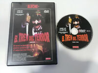 EL TREN DEL TERROR JAMIE LEE CURTIS DVD + EXTRAS TERROR HORROR ESPAÑOL ENGLISH