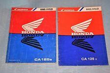 manuel d'atelier revue technique Honda CA 125 Rebel de 1996/1999