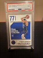 2018-19 PANINI CHRONICLES #71 LUKA DONCIC ROOKIE PSA 9 MINT