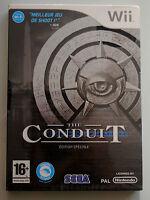 Jeu THE CONDUIT édition spéciale pour Nintendo Wii PAL NEUF sous blister
