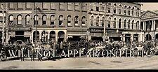 1920 Canton Ohio Fire Dept. Vintage Panoramic Photograph Reprint
