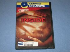 INSIDE (DVD, 2008, R-Rated) ***Rare, OOP!*** Blockbuster Exclusive~FRENCH Horror