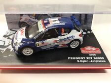 Peugeot 207 s2000 Ogier / Ingrassia 2009 Car Mythical Rally Monte-Carlo 1/43