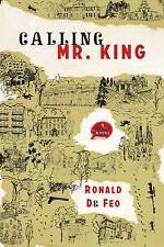 Calling Mr. King, De Feo, Ronald, 1590514750, Book, Good