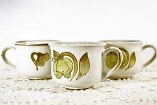 LOT of 3 DENBY England TROUBADOUR Tea cups   MINT!