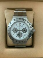 Bvlgari Diagono Professional Automatic CH40 STA Chronograph Watch Excellent