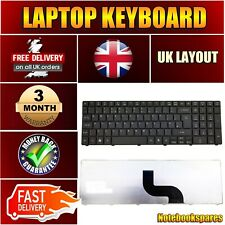 ACER ASPIRE 5252 5336 5552 5736 5736G LAPTOP KEYBOARD UK LAYOUT BLACK