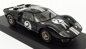 Solido 1/43 Scale Racing Car 43424 - 1966 Ford GT40 MKII - Black