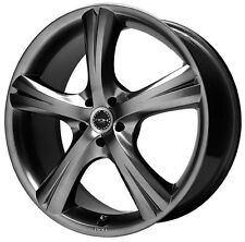 "New Set of 4 ROH Fury in Black Ice 17"" Wheel Rims For Audi Subaru Toyota Scion"
