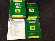 1998 JEEP CHEROKEE Service Shop Repair Manual Set OEM W Diagnostic Procedures