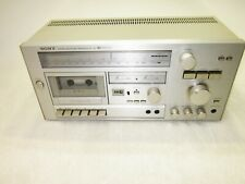 Sony RT-33 Silver Stereo Receiver Tapedeck Power Tested NO Sound AS-IS