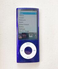 Apple iPod Nano 5th Generation 16GB Purple With Charging Cord  good condition!