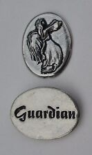 zzU Guardian Angel protection spirit PEWTER POCKET TOKEN CHARM basic coin