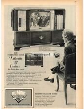 1959 Dumont ROYAL SOVEREIGN TV Radio Phonograph Floor Console VTG PRINT AD