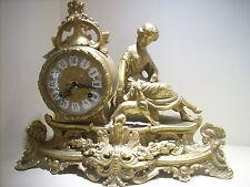 orologio  soprammobile    ottone LANCINI  mov.  HERMLE