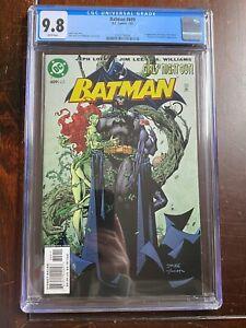 Batman #609 (2003) CGC 9.8 - 1st App Hush - Poison Ivy & Huntress App