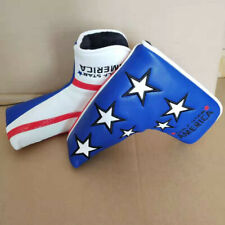 1X High Grade Leather Golf Star America Putter Headcover for Scotty Odyssey Pxg