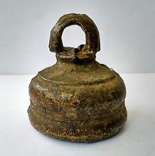 Ancienne cloche de cérémonie temple Inde du Nord 17/18e