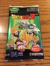 2001 Dragon ball Z  Series 2 Trading card Sealed Pack Japanese x 10