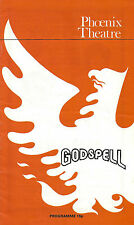 "Stephen Schwartz ""GODSPELL"" Andrew C. Wadsworth / Su Pollard 1975 London Program"