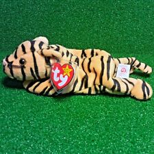 Ty Beanie Baby STRIPES 1995 Bengal Tiger POEM ERRORS Plush Toy RARE NEW RETIRED