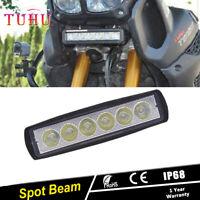MOTORCYCLE 18W LED WORK LIGHT BAR SPOT/Flood LAMP FOG DRIVING LIGHT FOR YAMAHA