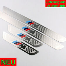 M Power Look Edelstahl Set Einstiegsleisten Design BMW X5 E70 X6 E71 X1 E84 NEU