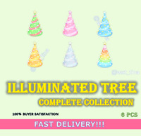 🎄Illuminated Tree🎅 Christmas Complete Collection 6 Pcs 💡 FASTEST!!!