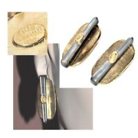 VALERIE VILOIN LABBE PARIS Boucles d'oreilles clips de couleur or bijou earring