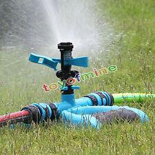 Lawn Sprinkler Garden Plant Yard Rotation Irrigation System Self Watering Spray