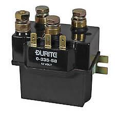 Durite 0-335-58 Bulkhead Change Over/Reversing Solenoid - 100A at 12V