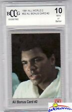 1991 All World #22 Muhammad Ali Bonus #2 Beckett 10 MINT