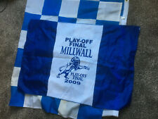 2 x MILLWALL Lions Play Off Final 2009 FLAGS/BANNERS