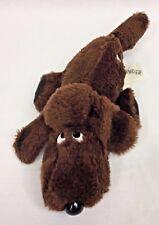 "Commonwealth Puppy Dog 1/4 Pounder Brown 10"" Plush Stuffed Animal Vintage 1985"