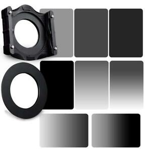 Zomei 10 in 1 Square Z-PRO Series Filter Holder Support + Adapter Ring 82mm + Fu